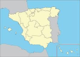 mapa de España del revés