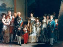 Familia Carlos IV del revés