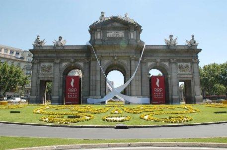 puerta de Alcalá lazo