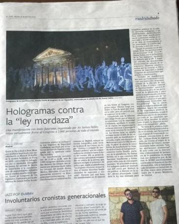 El País 12-4-2015 hologramas