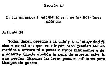 art 15 CE